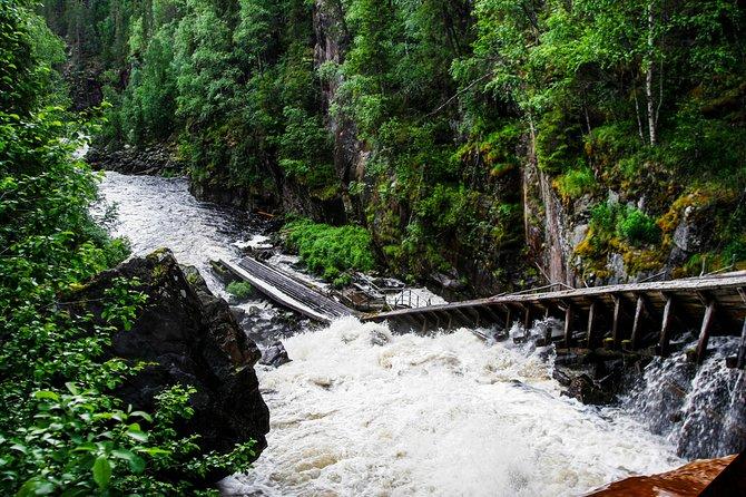 Trip to Auttikongas Water Falls