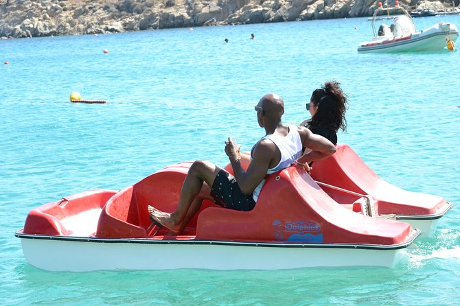 Mykonos Super Paradise Beach Paddle Boat