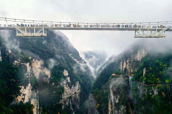 Zhangjiajie Grand Canyon and Glass Bridge Ticket