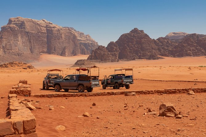 Wadi Rum Package - Overnight | 2 h Jeep Tour | Camp + Food Included | 2 Days