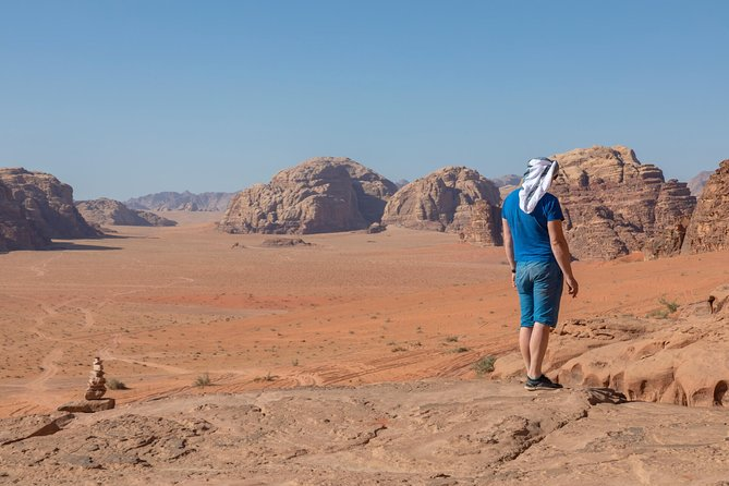 Wadi Rum Package - Overnight | 4 h Jeep Tour | Camp + Food Included | 2 Days
