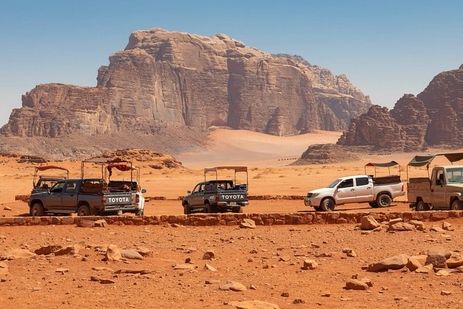 Wadi Rum Package | All Included | Desert Camp + Jeep Tour + Meals | 2 Days