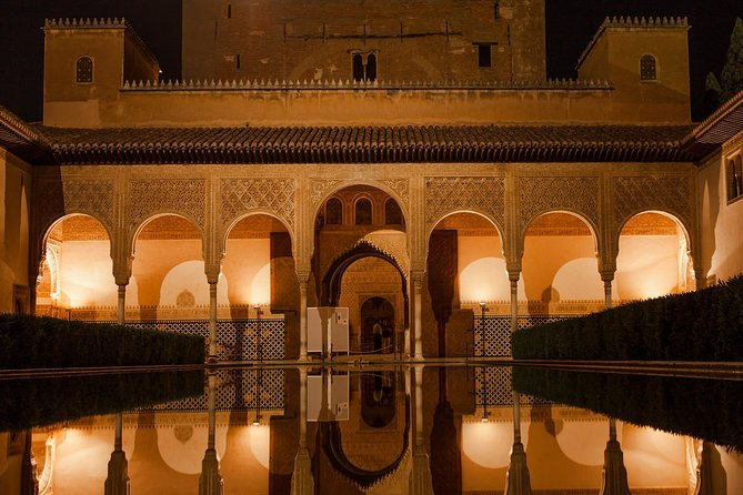 Alhambra Nasrid Palaces. Private night tour.
