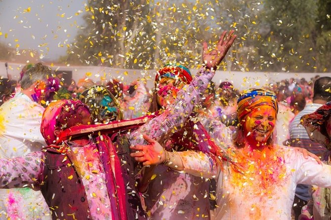 9-Day Private Guided Cultural Tour of Holi Festival