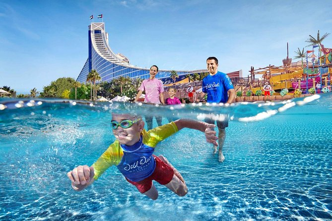 Dubai Wild Wadi Waterpark Admission Ticket with Transfers