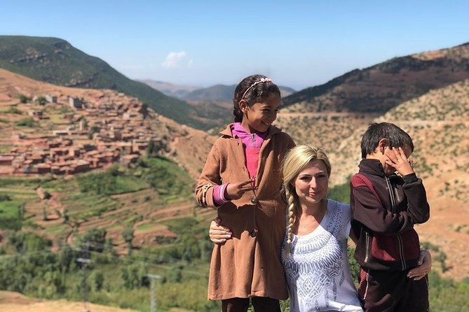 Marrakech: 2 Days Trek and Overnight At a Berber village In High Atlas Mountains