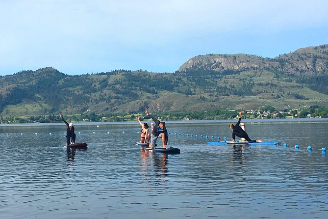 Small-Group Stand Up Paddle Yoga Experience in Osoyoos