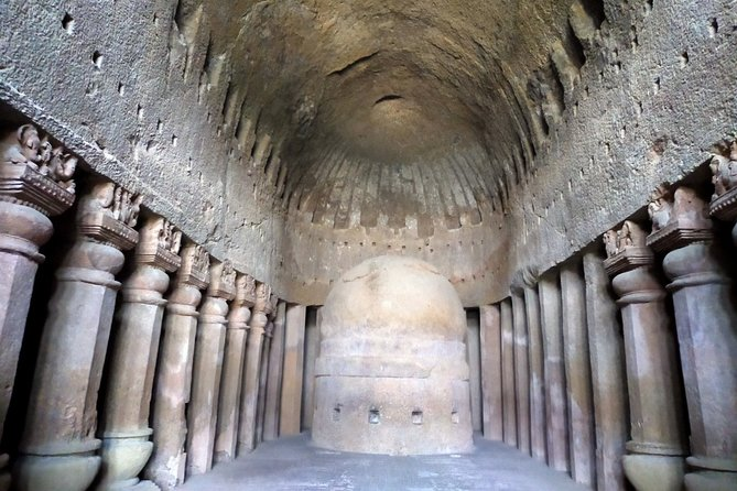 Private Sightseeing Tour of Kanheri Caves and Dharavi Slum