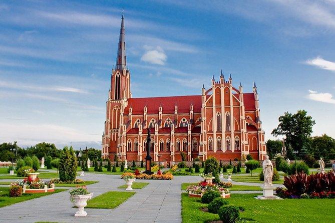 Minsk - Krevo, Gervyaty, Kamai - villages - Lake Naroch, Myadel,Vileyka - cities