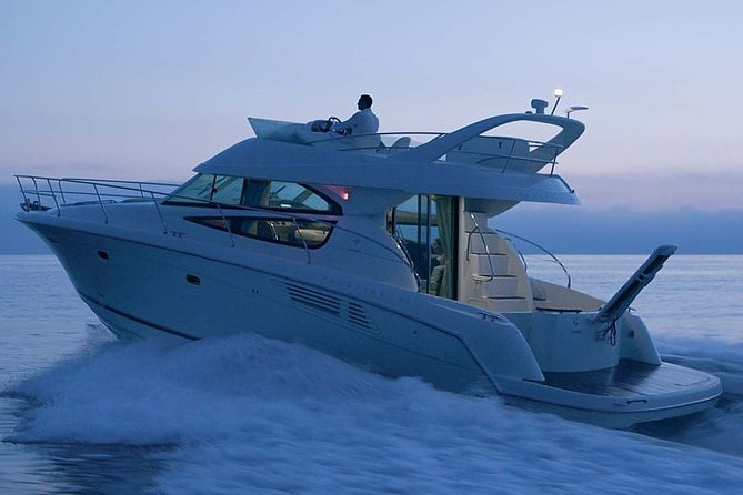 Cruise the day away on a wonderful motor yacht