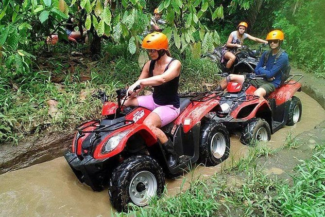 Bali Quad Bike and Ayung White Water Rafting Packages