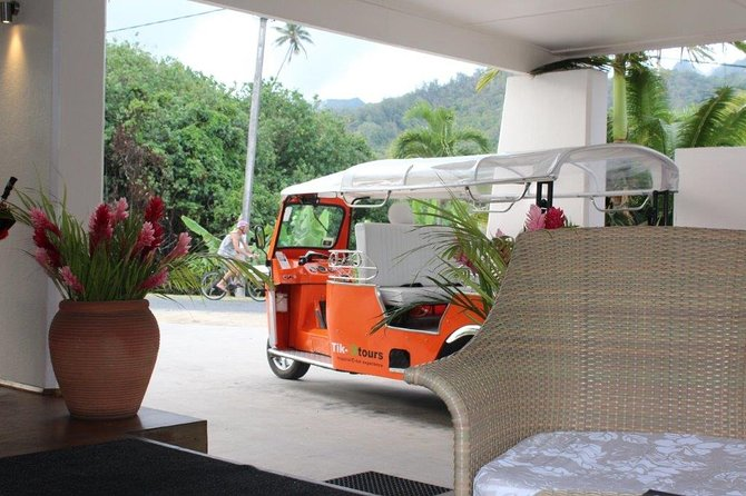 Explore Rarotonga by Electric Tuk Tuk