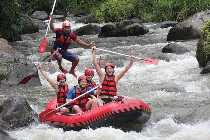 Bali White Water Rafting and Tanah Lot Sunset Tour