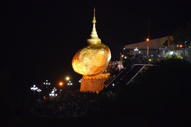 Discover Myanmar Yangon -Golden Rock-Inlay-Bagan-Monywa-Mandalay