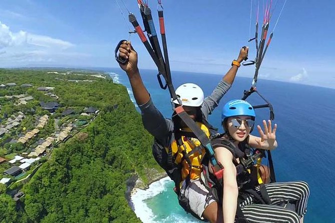 BALI PARAGLIDING Fly, Swing and Soaring above the sea with private transfer