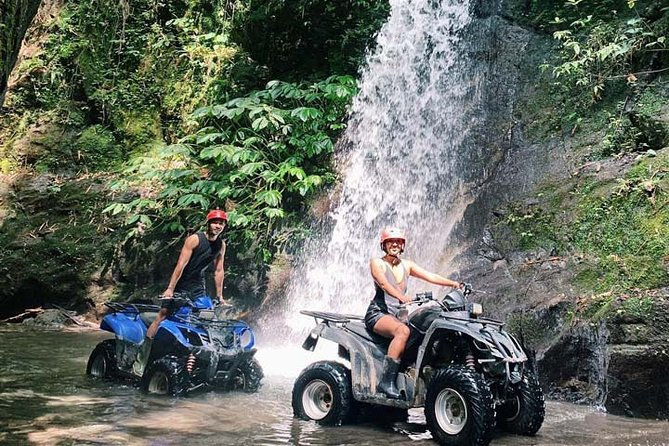 Bali ATV KUBER ADVENTURE : WATERFALL TREK with ALL INCLUSIVE