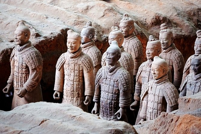 Xi'an Terra-Cotta Warriors Private Day Tour from Shanghai by Plane