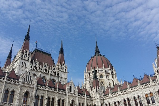 Panoramic Budapest with Hungarian salami tasting