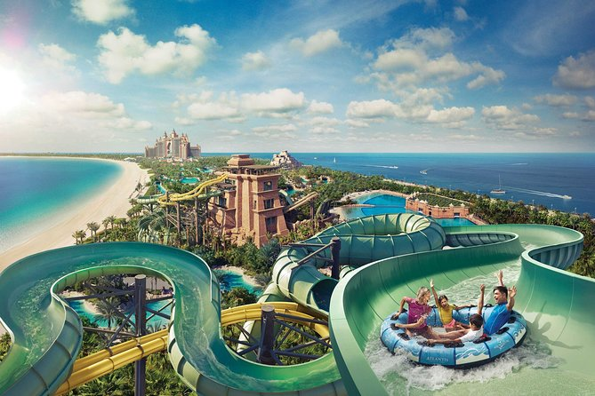 Dubai Aquaventure Waterpark and Lost Chamber Ticket and Pickup