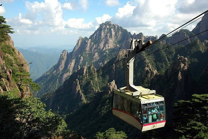 Cable Car at Mount Huangshan