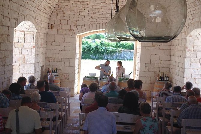 Private Half-Day Wine Tour from Ostuni with Lunch