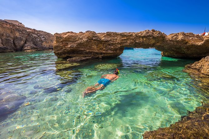 Snorkelling and swimming tour in Gozo, Malta