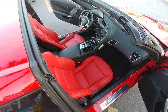 Corvette's passenger adventure seating