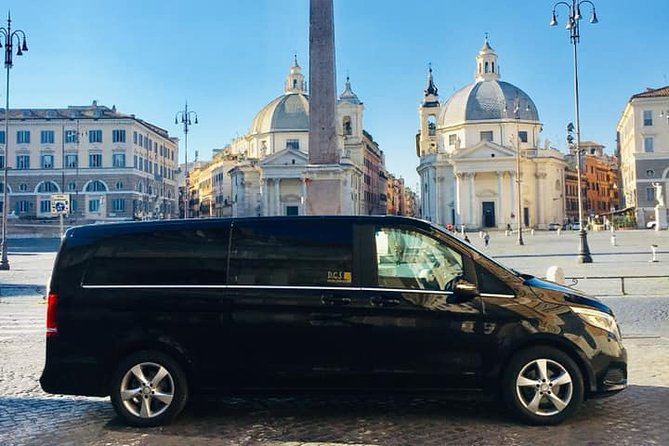 Transfer Rome north / west to / from Fiumicino or Ciampino airport