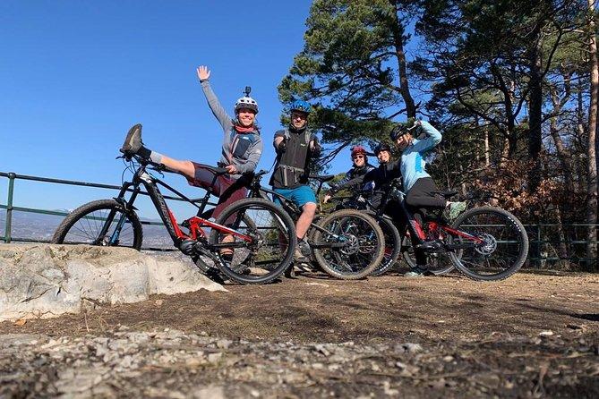 Electric mountain biking in Annecy
