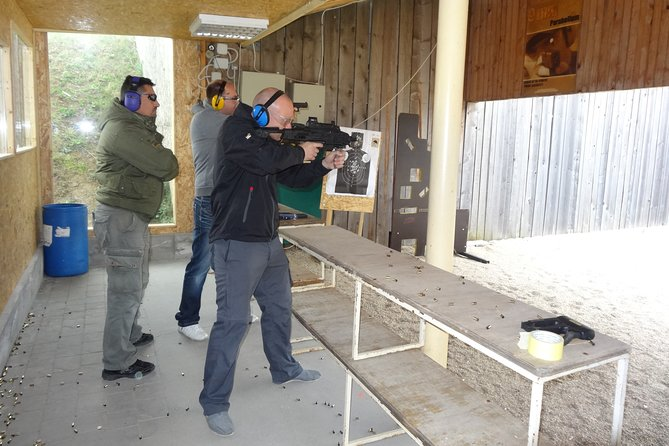 Shooting Range in Bucharest with Hotel Pickup