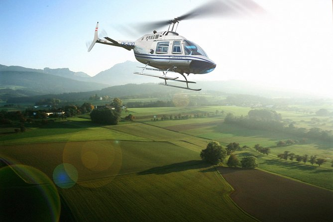Vienna 30 Minutes Helicopter Tour for 4