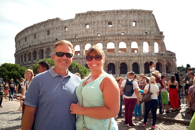 Rome Highlights Small-Group Guided Tour with Pickup and Lunch