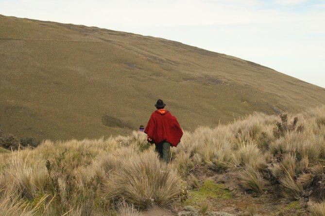 Excursion Day Hieleros de Bolívar from Riobamba