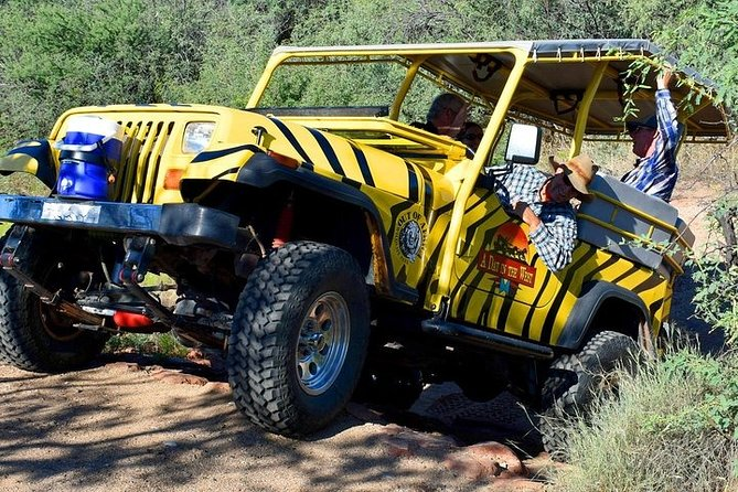 Camp Verde Off-Road Jeep and Zip Line Experience