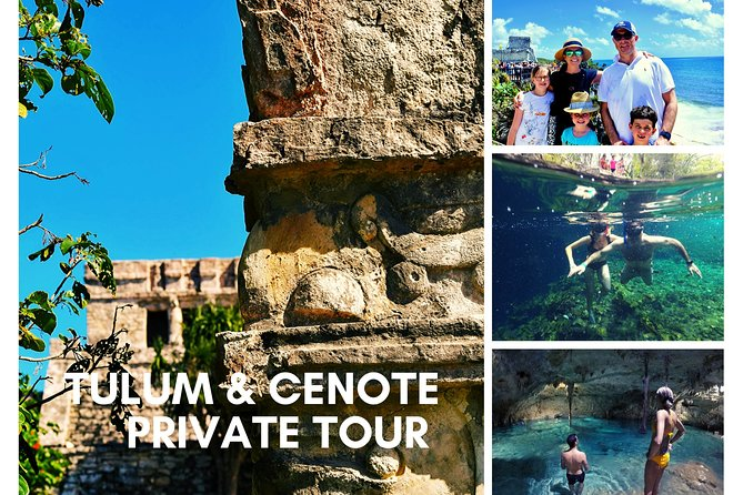 Tulum Ruins and Cenote Taak-bi-ha Private Tour