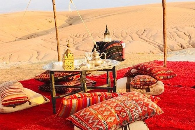 Marrakech:Luxury Private Day Trip To Agafay Desert & Atlas Mountains with Camels