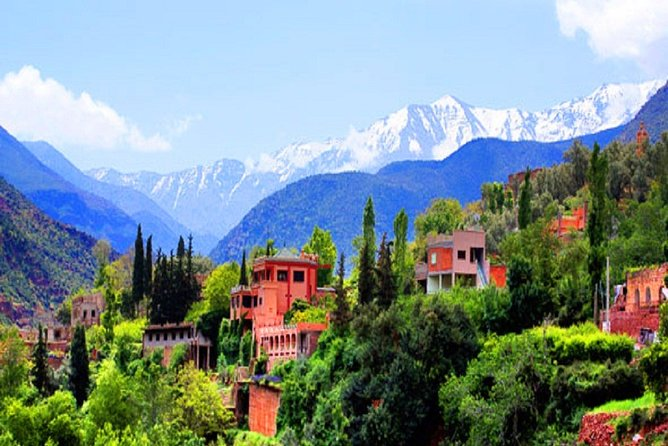 Atlas Mountains Day Tour from Marrakech Explore The Berber Villages & Waterfalls