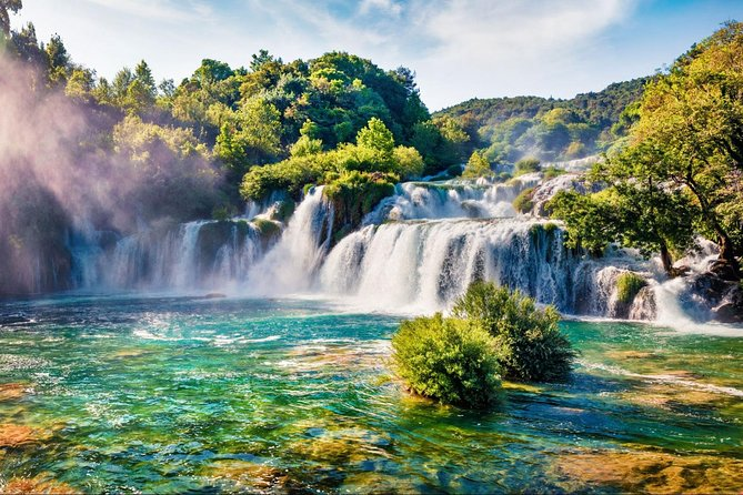 Krka Waterfalls & Klis fortress private tour