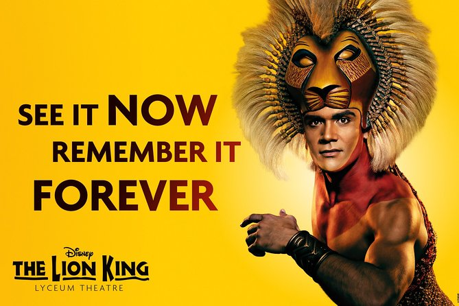 The Lion King Theater Show And Dinner