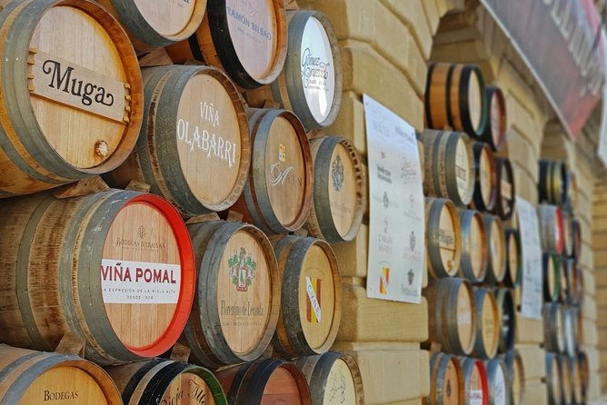 La Rioja Private Winery Visit with Wine Tasting and Lunch