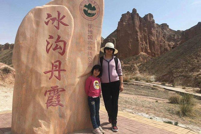 2 Days Zhangye Mati Temple, Pingshan Lake Valley & Rainbow Mountain Tour