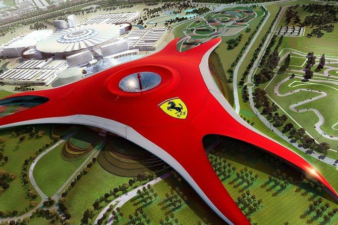 Ferrari World Abu Dhabi Full-Day Tour with transfers from Dubai