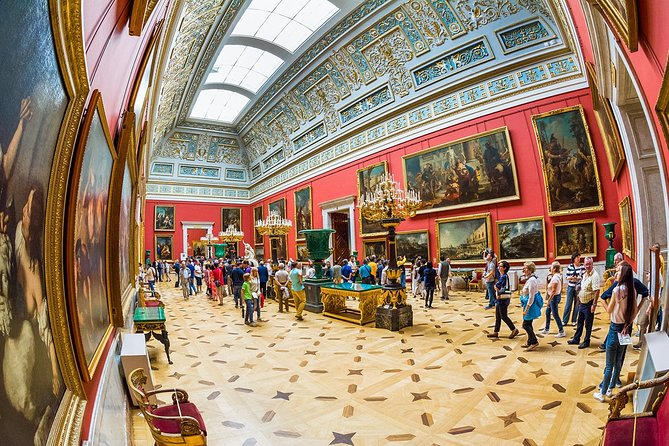 4 day private tour of all Museums in Saint Petersburg