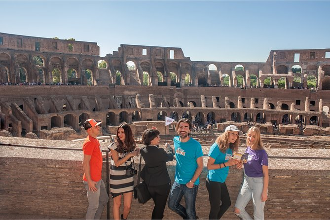 VIP Colosseum, Arena Floor and Ancient Rome