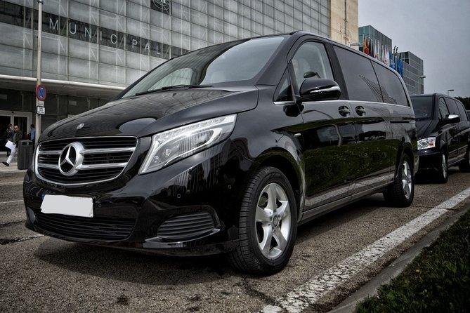 Departure Private Transfer Saint-Francois to Pointe a Pitre Airport Luxury Van