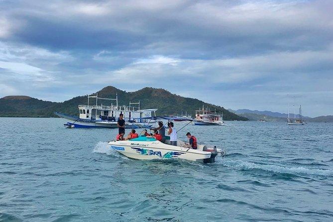 All inclusive Coron Island Hopping: Private Speedboat