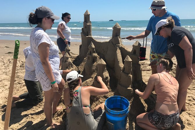 South Padre Island Sandcastling Experience