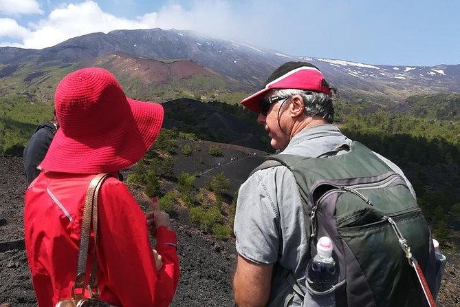Trekking on Etna
