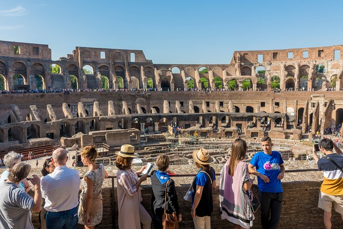 Colosseum's underground with Arena Floor, Forum and Palatine Hill guided tour