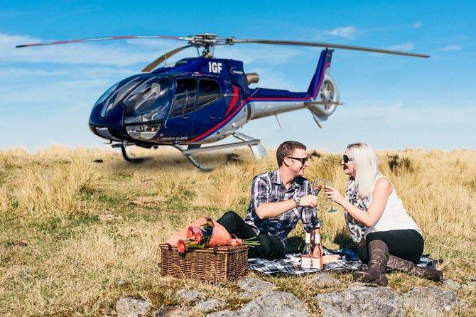 Love in the Air Christchurch Helikoptervlucht met Port Hills Landing